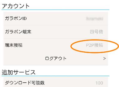 P2P接続